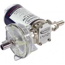 Насос шестеренный MARCO UP-3 12V, арт. 16400012 (Qmax=0,9 м³/час, Pmax=1,7 атм, 0,12 кВт, 12В)