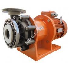 Насос центробежный с магнитной муфтой ALPHADYNAMIC ADM 50-PP, арт. S121-1008 (полипропилен (PP); Qmax=51 м³/час; Hmax=33 м; 380В; 5,5 кВт)