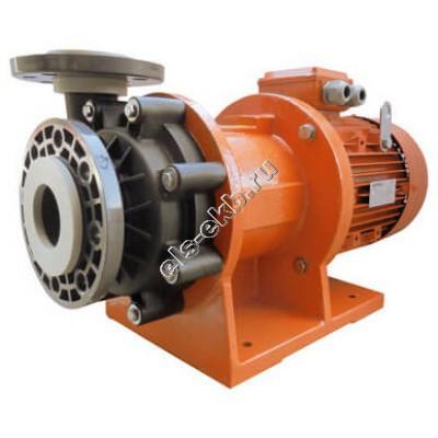 Насос центробежный с магнитной муфтой ALPHADYNAMIC ADM 50-PP, арт. S121-1008 (полипропилен (PP), Qmax=51 м³/час, Hmax=33 м, 380В, 5,5 кВт)