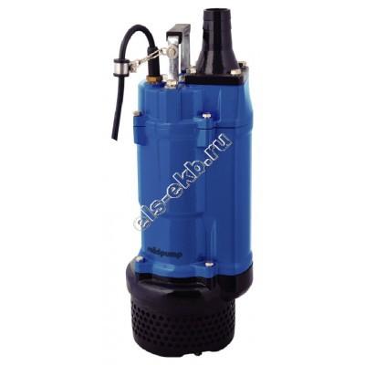 Насос дренажный SOLIDPUMP 80TBZ5,5 с рубашкой охлаждения (Qmax=75 м³/час; Hmax=34 м; 380В; 5,5 кВт)