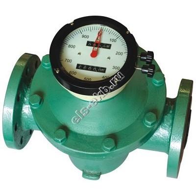 Счетчик механический АМПИКА FM-I-100 (160-1600 л/мин, бензин, дизель, керосин, масла)