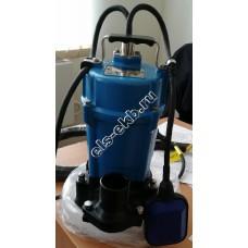 Насос дренажный SOLIDPUMP 50PSM0,4F с агитатором и поплавковым выключателем (Qmax=12,6 м³/час; Hmax=12 м; 220В; 0,4 кВт)