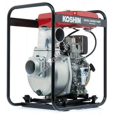 Мотопомпа дизельная KOSHIN SEY-100D (Qmax=75 м³/час; Hmax=28 м; DN 100; двигатель: Yanmar L70N6)