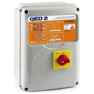 Пульт управления для двух дренажных насосов PEDROLLO QED2-TRI/2 (380В)