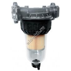"""Фильтр с колбой для дизельного топлива PIUSI F-5, арт. F00611B00 (Qmax=100 л/мин; 5 мкм; 1"""" BSP; с запасным картриджем)"""