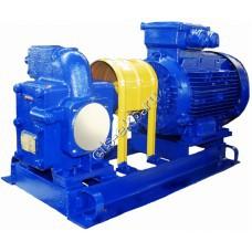 Насос шестеренный ЭЛС Ш 40-4-19,5/4 с 5,5 кВт (Qmax=19,5 м³/час; Pmax=4 атм; 5,5 кВт; 380В)