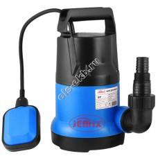 Насос дренажный погружной JEMIX GP-1100 с поплавком (Qmax=14,0 м³/час, Hmax=9,5 м, 220В, 1,1 кВт, кабель 8 метров)