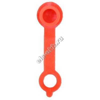 Колпачок защитный для конических пресс-масленок красный GROZ CAP/GFT/RD/ST50, арт. 46701