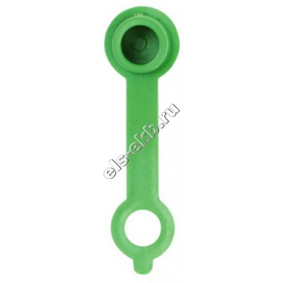 Колпачок защитный для конических пресс-масленок зеленый GROZ CAP/GFT/GN/ST50, арт. 46705