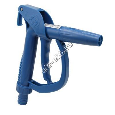 Пистолет химический ручной FINISH THOMPSON из полипропилена, арт. 111030-1 (Штуцер под шланг Ø 25 мм; 50 л/мин; уплотнение FKM)
