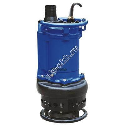 Насос дренажный шламовый SOLIDPUMP 150TBS9 с рубашкой охлаждения и агитатором (Qmax=192 м³/час, Hmax=21,5 м, 380В, 9,0 кВт)