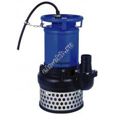 Насос шламовый SOLIDPUMP 100TTZ3,7 с рубашкой охлаждения и агитатором (Qmax=114 м³/час; Hmax=15 м; 380В; 3,7 кВт)