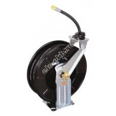 """Катушка открытая для масла и воздуха со шлангом LUBEWORKS, арт. M820154 (Ду 1/2""""; 138 бар; 15 м)"""