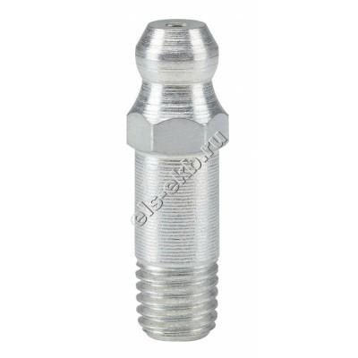 """Пресс-масленка коническая прямая H1, оцинкованная закаленная сталь длинная PRESSOL 1/4"""" WHIT VZ, SK, SW 7 длина 26 мм, арт. 55062"""