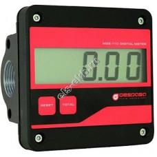 Счетчик электронный GESPASA MGE-110, арт. 32600 (5-110 л/мин; д/т, печное топливо, моторные масла до SAE-140)