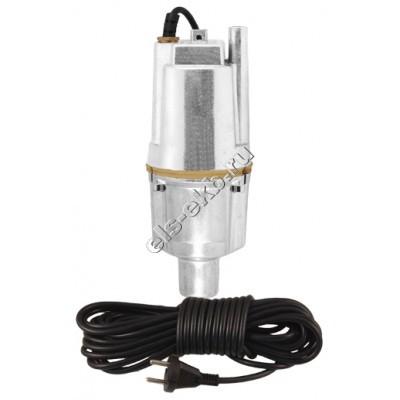 Насос погружной вибрационный JEMIX XVM 60 B/15 (с нижним забором воды; Qmax=1,0 м³/час; Hmax=60 м; 220В; 0,25 кВт; кабель 15 метров)