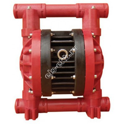 "Насос мембранный пневматический ALPHADYNAMIC RUBY 025 P-P-ZPT-T, арт. A025-0009-T (Qmax=150 л/мин; Pmax=7 бар; 1"" BSP)"