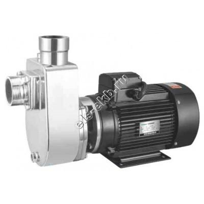 Насос центробежный самовсасывающий ХМСЕ-15/16-АМ (нержавеющая сталь (AISI 304); Qmax=24 м³/час; Hmax=22,5 м; 380В; 1,5 кВт)