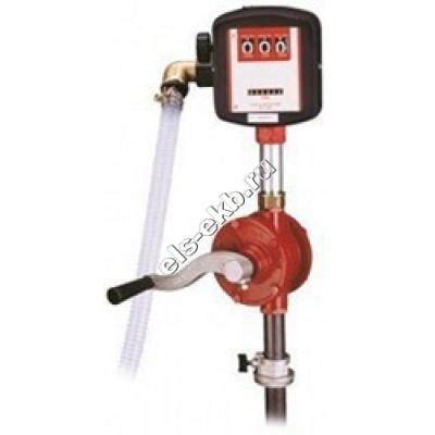 Насос бочковой ручной GESPASA BRM-8880, арт. 34050 (Qmax=0,285 л/цикл; Hmax=5 м; со счетчиком)