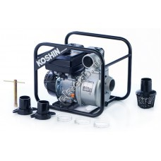 Мотопомпа бензиновая для слабозагрязненной воды KOSHIN SEV-80X (Qmax=63 м³/час, Hmax=27 м, DN 80, двигатель: Koshin K180)