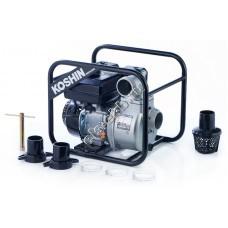 Мотопомпа бензиновая KOSHIN SEV-80X (Qmax=63 м³/час; Hmax=27 м; DN 80; двигатель: Koshin K180)