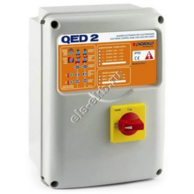 Пульт управления для двух дренажных насосов PEDROLLO QED2-TRI/3 (380В)