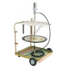 Система раздачи смазки пневматическая LUBEWORKS, арт. 1700536 (50:1; для емкостей 180 л)