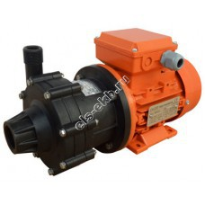 Насос центробежный с магнитной муфтой ALPHADYNAMIC ADM 04-PVDF, арт. S121-1051 (PVDF, Qmax=3,5 м³/час, Hmax=7 м, 380В, 0,12 кВт)