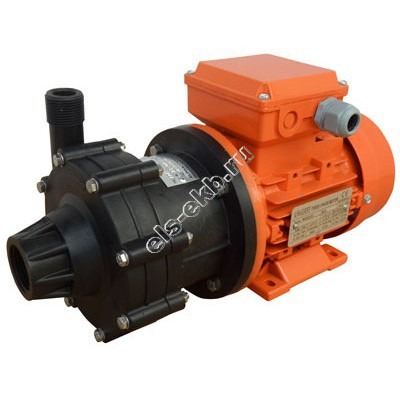 Насос центробежный с магнитной муфтой ALPHADYNAMIC ADM 04-PVDF, арт. S121-1051 (PVDF; Qmax=3,5 м³/час; Hmax=7 м; 380В; 0,12 кВт)